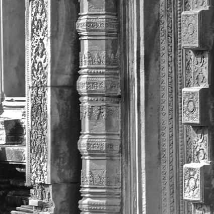 Banteay Srei, um dos mais antigos templos do Camboja