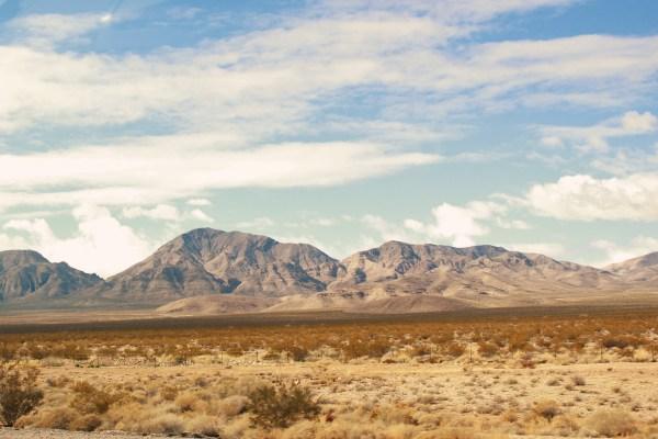 O Lindo Deserto de Mohave