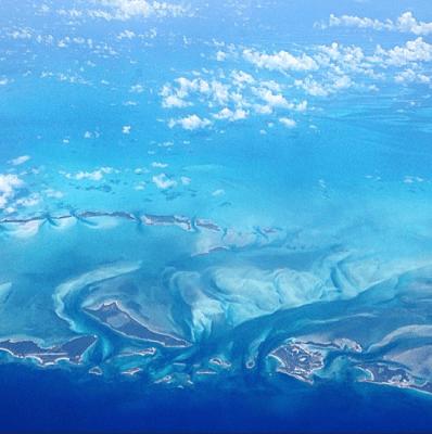 Se meu medo fosse maior que meu sonho eu nunca teria tido essa vista das Bahamas!
