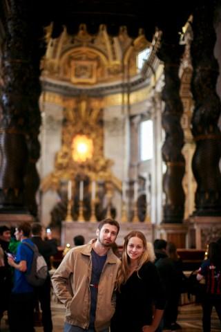 Basílica de São Pedro. Foto: Emanuelle Rigoni