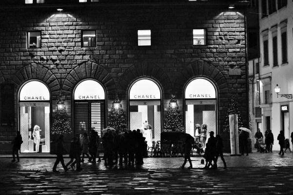 Chanel, Piazza della Signoria, Florence