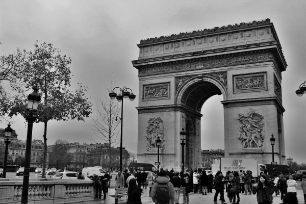 Arc du trionphe, Paris
