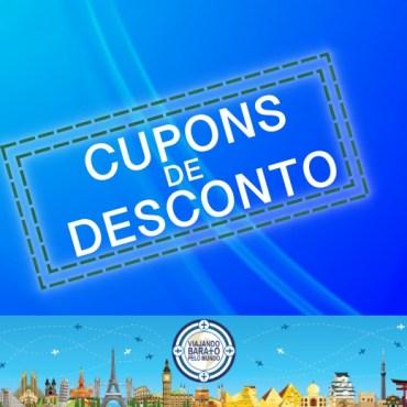 CUPONS DE DESCONTO PARA SUA VIAGEM