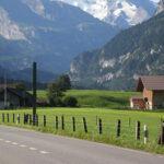 Um giro pela França, Suíça e Itália em 28 dias