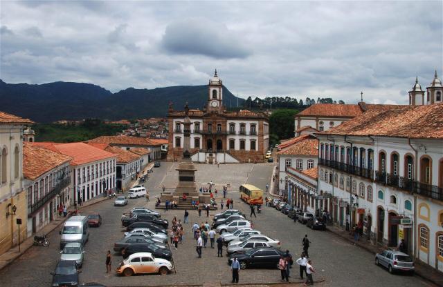 Roteiro histórico por Minas_Vista Ouro Preto_Viajando bem e barato