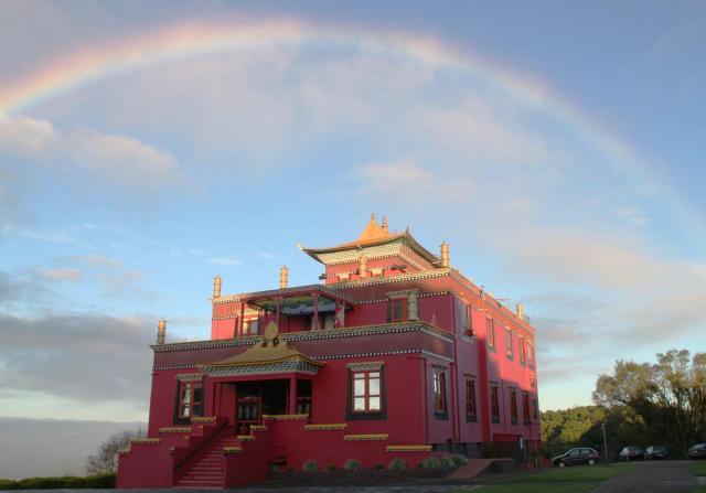 templo budista_Chagdud Gonpa_Viajando bem e barato