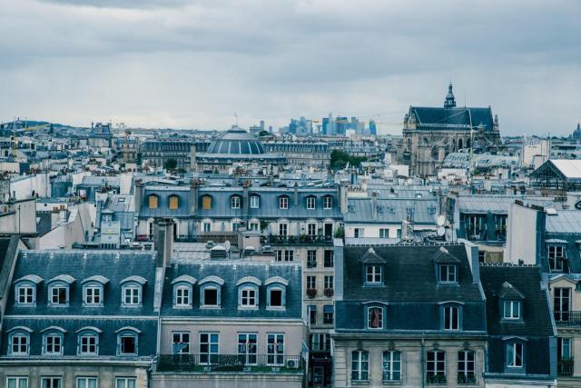 Paris_telhados_Viajando bem e barato