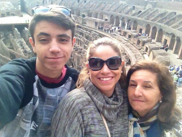 Viagem para Itália e Portugal_selfie_Viajando bem e barato