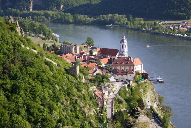 Dica de turismo na Áustria_Durnstein_Viajando bem e barato