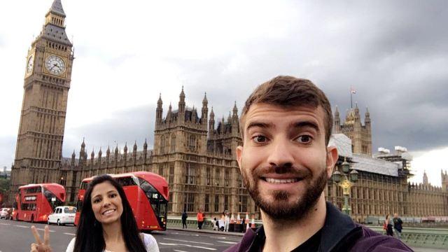 Lua de mel na Europa_Big Ben_Viajando bem e barato