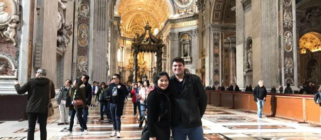 Roteiro pela França e Itália – a primeira viagem à Europa do casal Vivian e Rodolfo