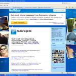 Background Twitter Submarino Viagens