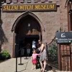 """Boston com crianças e as """"bruxinhas"""" de Salem"""