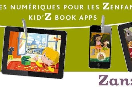 Zanzibook: histórias e aplicativos para crianças viajantes!
