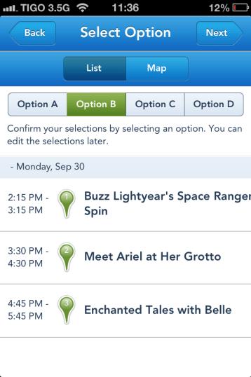 My Disney Experience, FastPass+