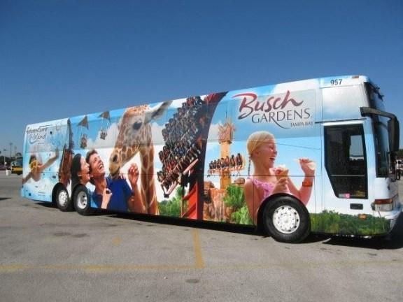 Shuttle Busch Gardens