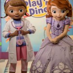 """Doutora Brinquedos e Princesa Sofia são as novas estrelas das """"refeição com personagens"""" na Disney de Orlando"""