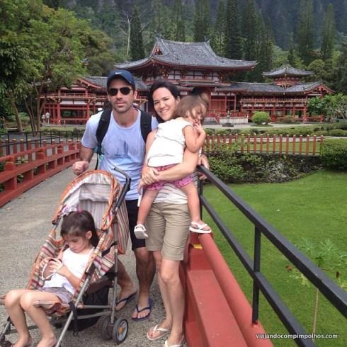 Hawaii com crianças