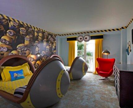 A irresístível suíte dos Minions no Loews Portofino Bay Hotel at Universal Orlando
