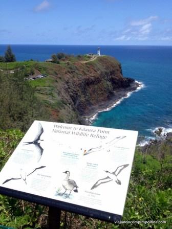 Farol de Kilauea, Kauai, Hawaii
