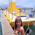 Havaí com crianças: o passeio de submarino em Lahaina, Maui.