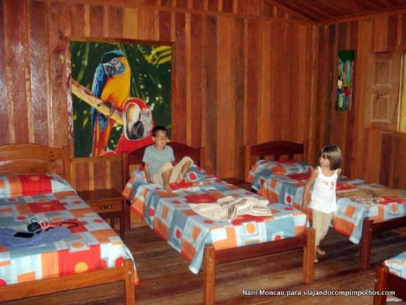 nossa cabana