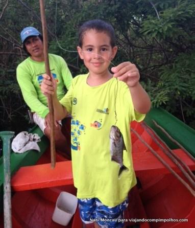 Pesca de piranhas