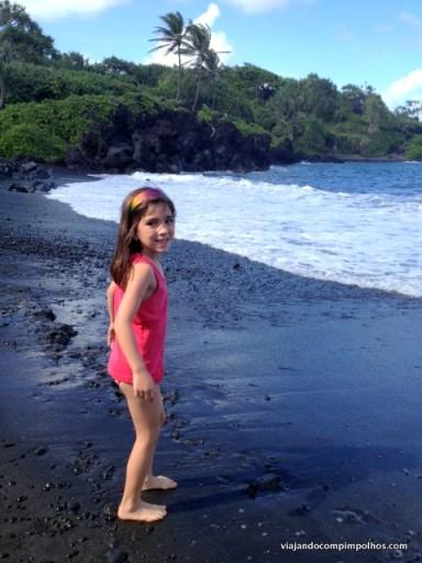 Black Beach, Caminho de Hana, Maui