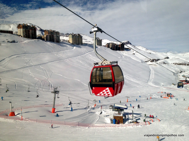 Gôndola Valle Nevado