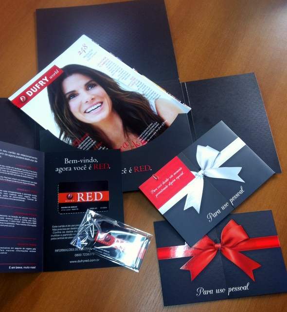 Welcome Kit Dufry Red