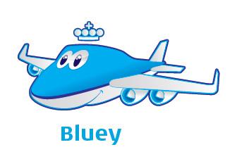Bluey-mascote-KLM