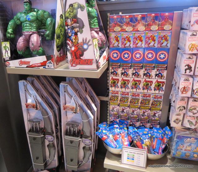 Super Hero Headquarter Disney Springs