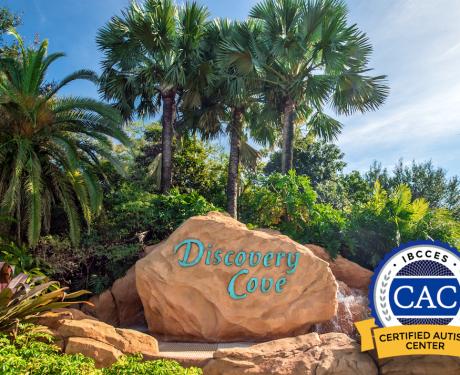 Discovery Cove se torna um Centro de Autismo Certificado (CAC).