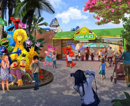 Vem aí um novo Parque Sesame Place em San Diego!