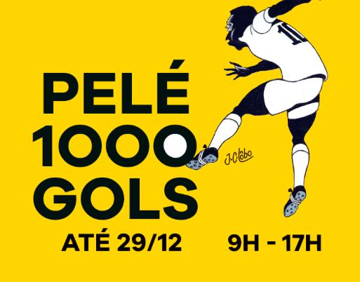 Exposição Pelé 1000 Gols