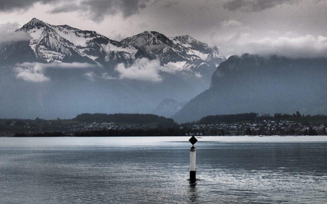 Navegando por el lago Thun con bebé. Visitas a Thun y Spiez