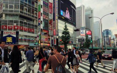 Tokio con bebé