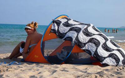 Día de playa con bebé