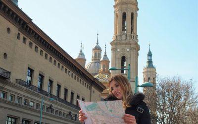 Zaragoza con bebé