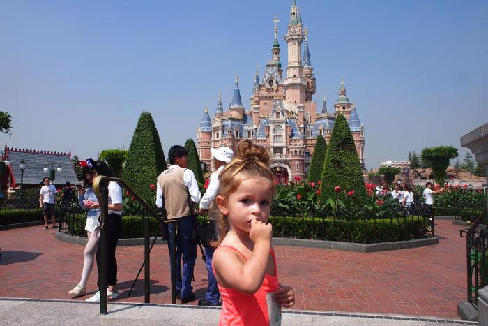 Un día en Disneyland Shanghai con bebé