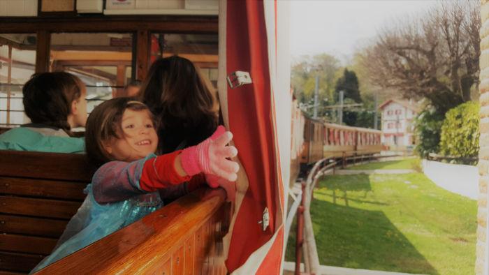 Tren La Rhune, un imprescindible con niños en el Pirineo Vasco-Francés