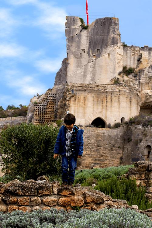Foto del Castillo de Baux-de-Provence