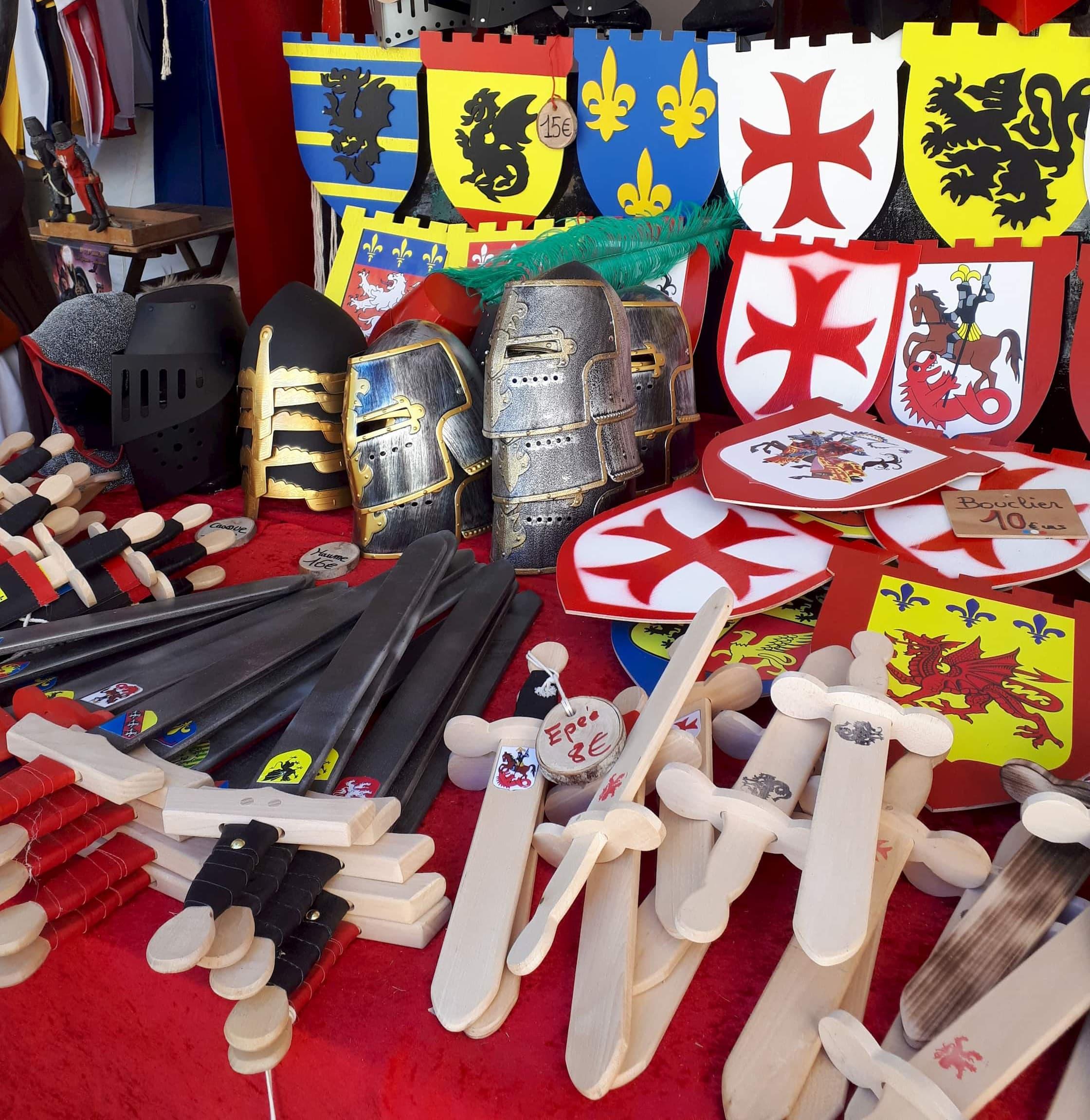 Feria Medieval de Saint Maximin en Francia