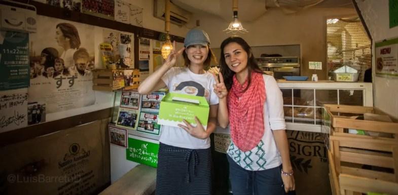 como se come helado en japón