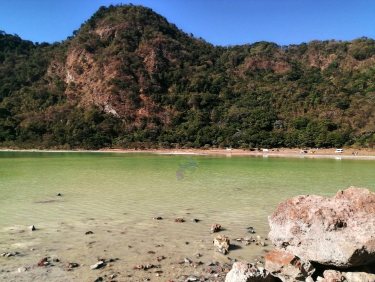 Laguna de Alegria aumento de su agua