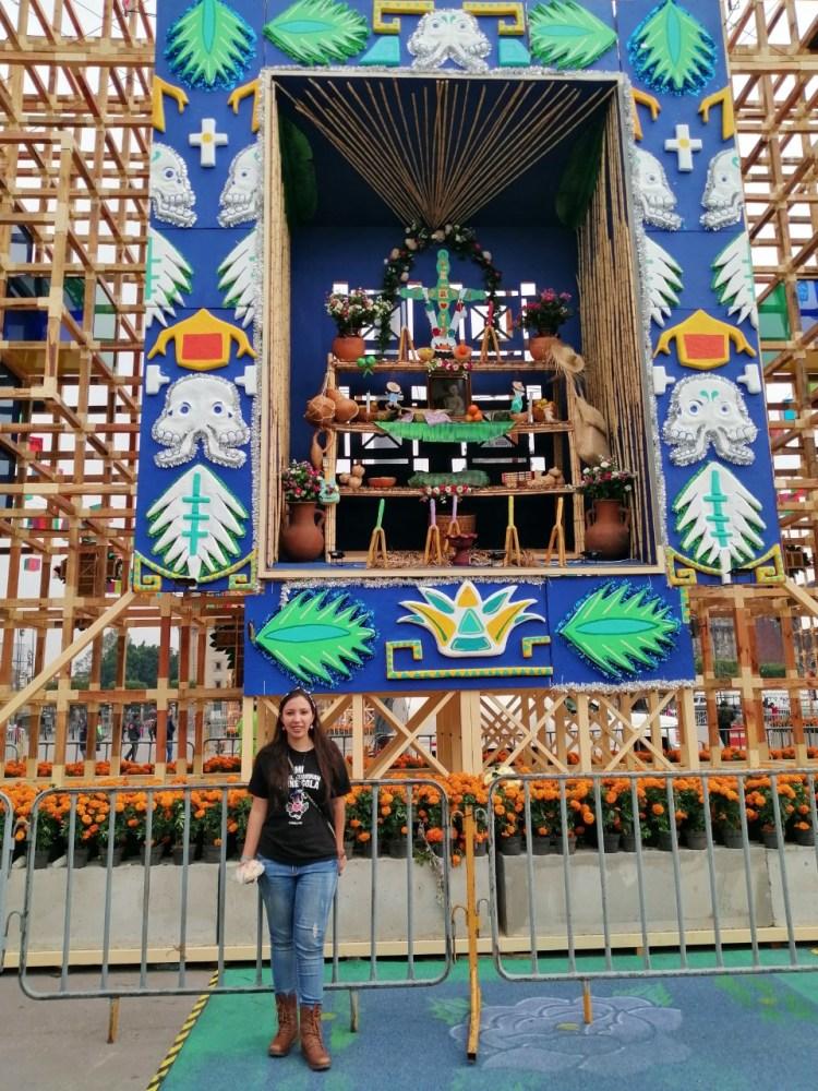 Decoracion en Zocalo