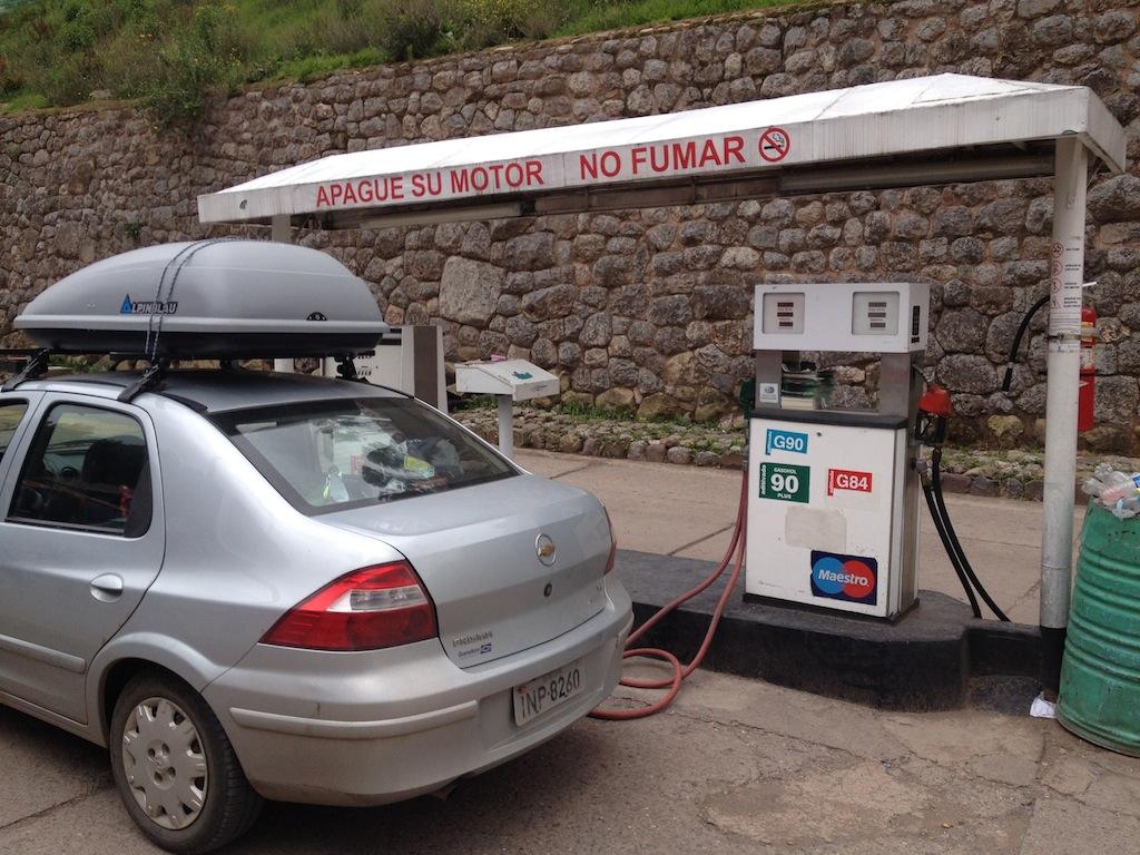 Preço dos combustíveis na Argentina, Chile, Peru, Bolívia e Uruguai