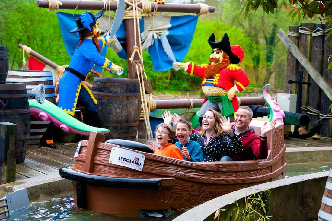 Barco Pirata Legoland