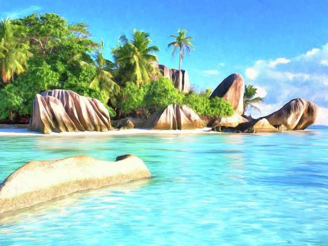la playa seychelles