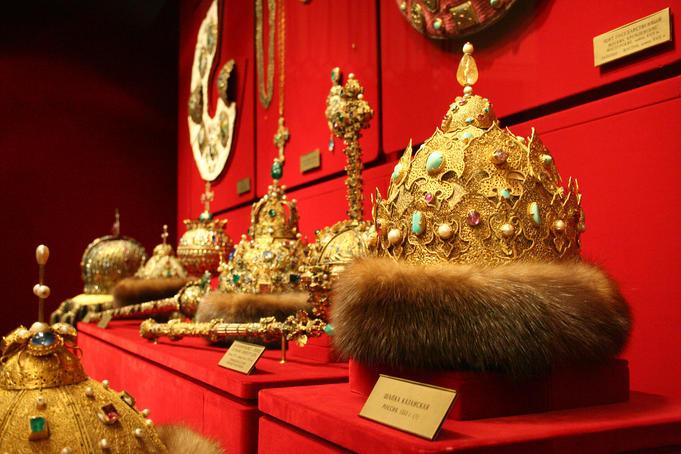 Las coronas de los Zares